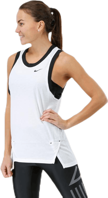 Women Elite Tank White/Black