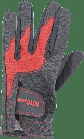 Junior Glove Black/Red