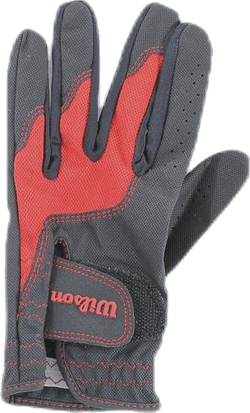 Junior Glove Black/Red