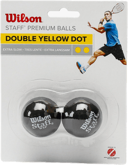 Staff Squash 2 Ball DB Black