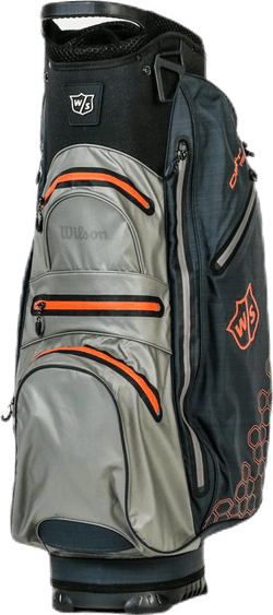 W/S Dry Tech II Cart Bag Black/Grey