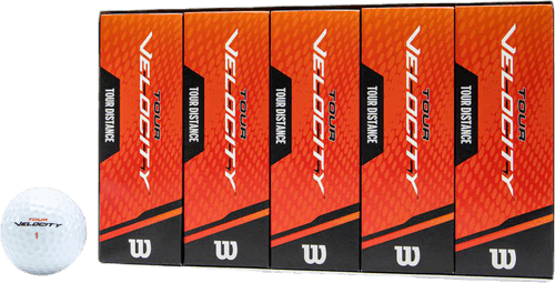 Tour Velocity Distance 15-Ball White