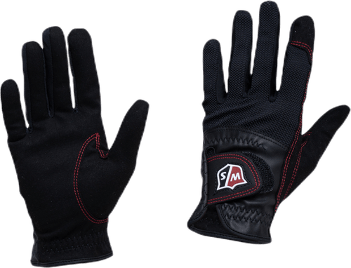 Rain Gloves W Black