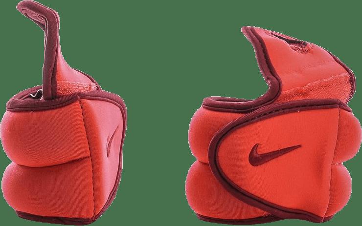 Wrist Weights 2.5 lbs/1.1 kg Each Red