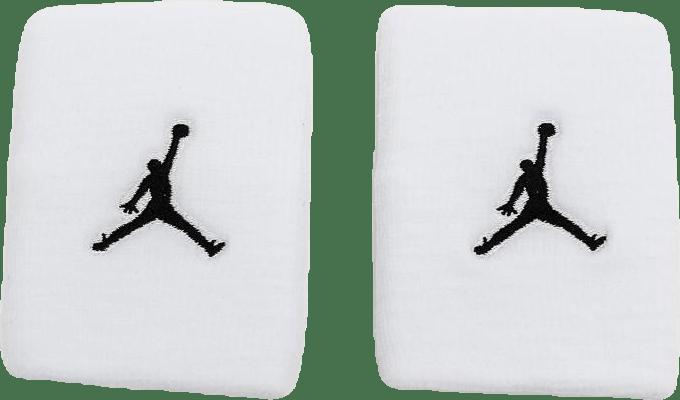 Jordan Jumpman Wristbands White/Black