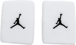 Jordan Jumpman Wristbands White/Black