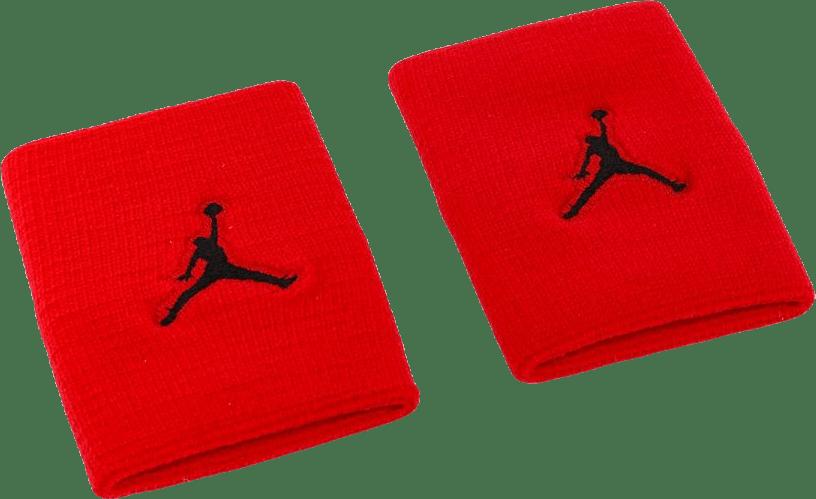 Jordan Jumpman Wristbands Black/Red
