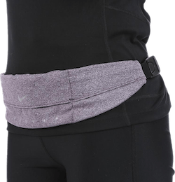 Expandable Waistpack Purple/Black
