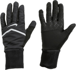 Shield Running Gloves Black/Silver