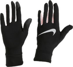 Lightweight Tech Running Gloves Pink/Black