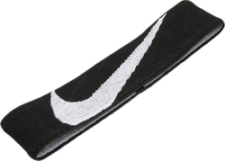 Nike Logo Knit Elastic Headband White/Black