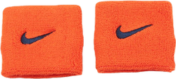 Swoosh Wristbands Orange/Blue