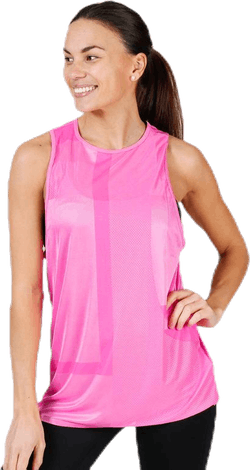 Tech Pack Knit Muscle Tank Pink