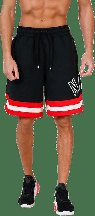 Air Short Fleece Black/Red