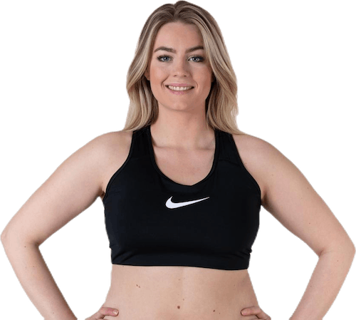 Swoosh Plus Size Bra White/Black
