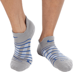 Dry Cushion Low Training Socks 3 pack Blue/Beige