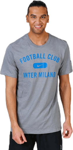 Inter T-Shirt Grey