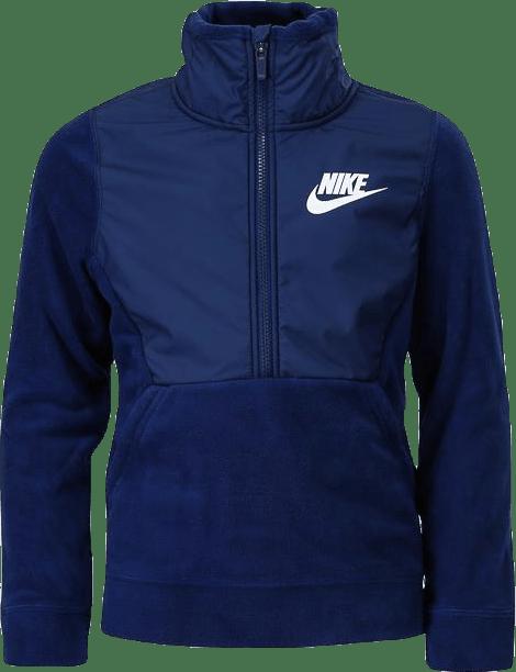 Winterized Fleece Half Zip Jr Blue