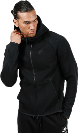 Tech Fleece Full Zip Hoodie Black