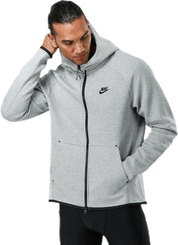 Tech Fleece Full Zip Hoodie Grey