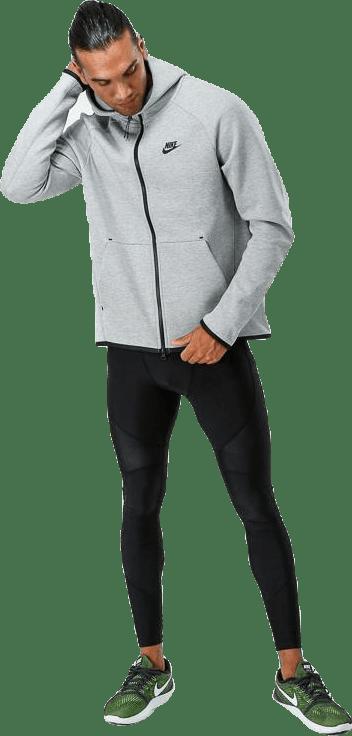 Tech Fleece Hoodie Fz Dk Grey Heather/Black/Black