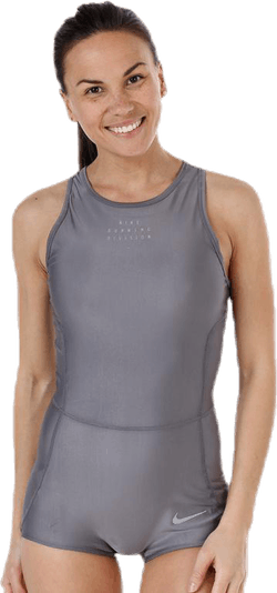 Running Division Bodysuit Grey
