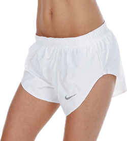 Hi Cut Short Running Division White