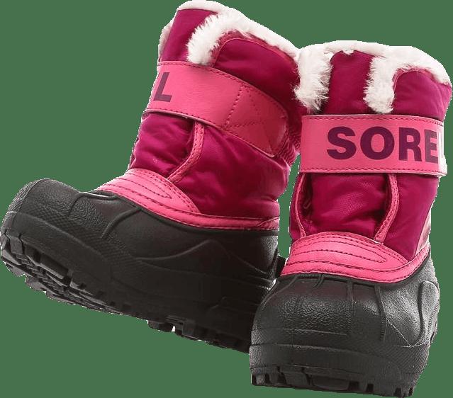 Childrens Snow Commander Pink/Black