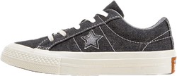 Kids One Star Sneakers Black