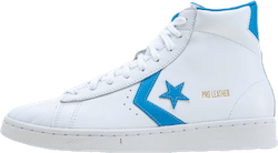 Pro Leather Hi Blue/White