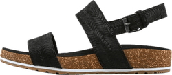 Malibu Waves 2 Band Sandal Black