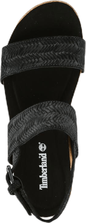 Malibu Waves 2 Band Sandal Black