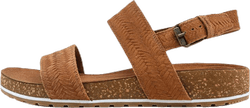 Malibu Waves 2 Band Sandal Brown