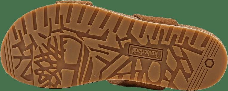 Malibu Waves 2 Band Sandal Brown