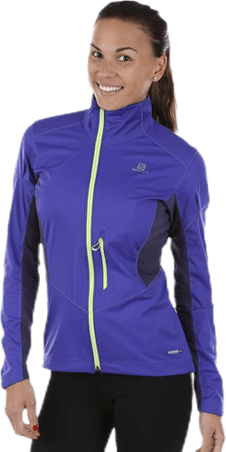 Lightning Softshell Jacket Purple/Grey