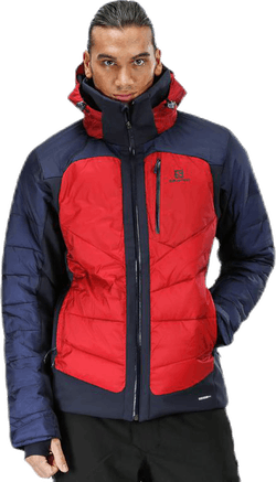 Iceshelf Jacket Grey/Red
