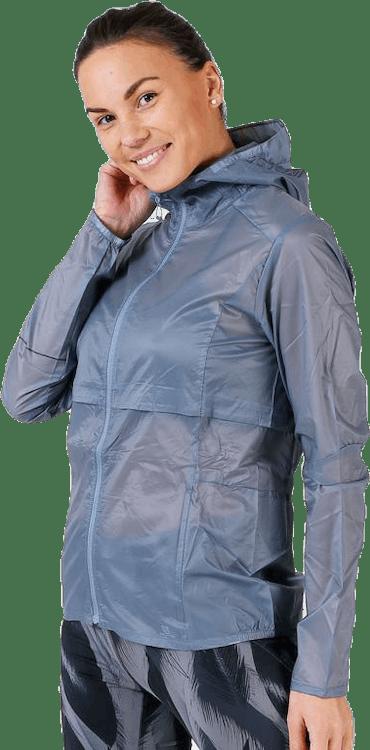 Elevate Aero Full Zip Hoodie Blue/Grey