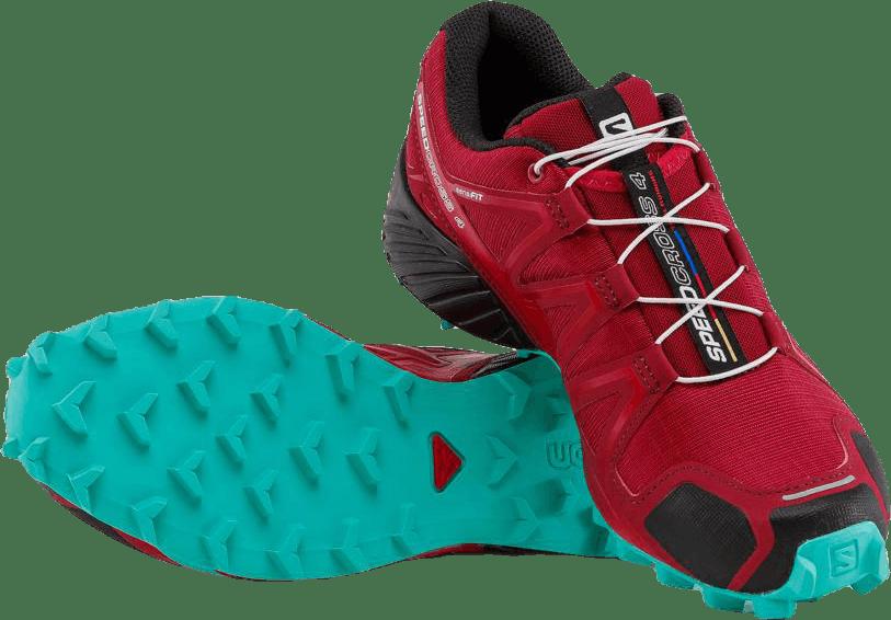 Speedcross 4 Turquoise/Red