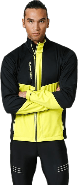 Östersund WS Jacket Black/Yellow