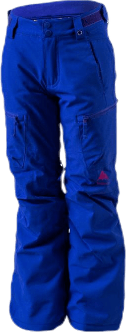 Girls Elite Cargo Pant Blue