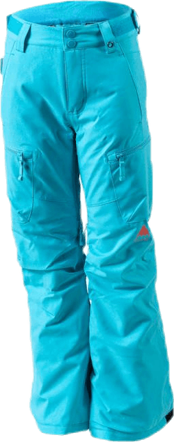 Girls Elite Cargo Pant Turquoise