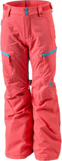 Girls Elite Cargo Pant Orange