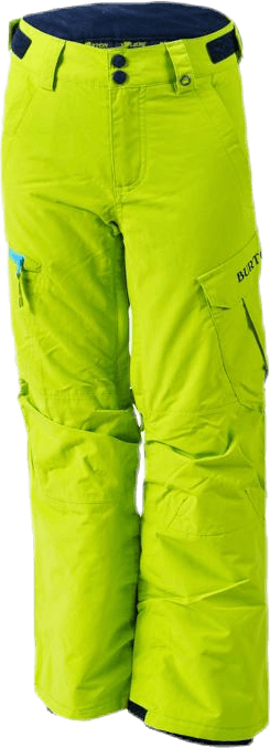 Exile Cargo Youth Green/Yellow