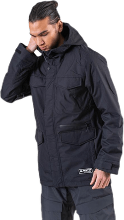 Covert Jacket Black