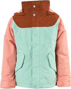 Girls Elodie Jacket Blue/Pink/Brown