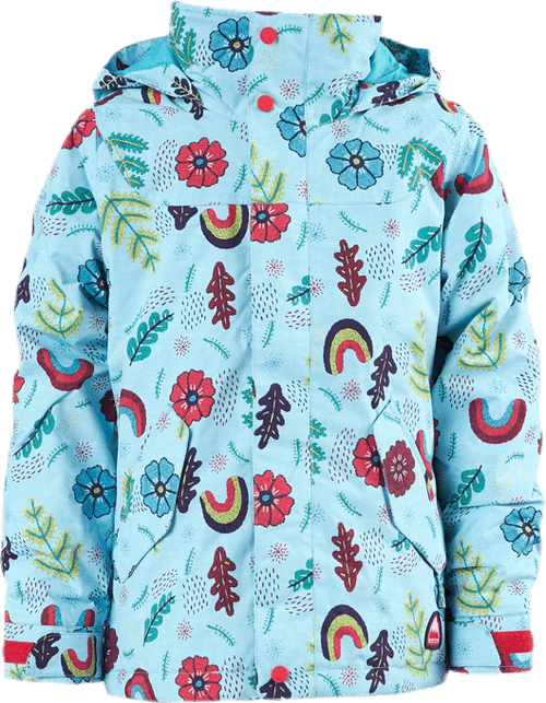 Girls Elodie Jacket Blue/Patterned