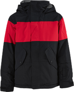 Boys Symbol Jacket Black/Red
