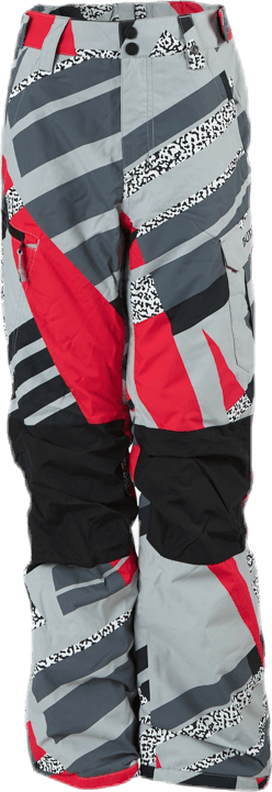 Exile Cargo Youth Grey/Red