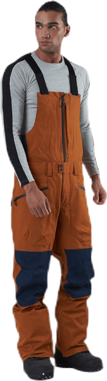 Reserve Bib Pant Blue/Brown