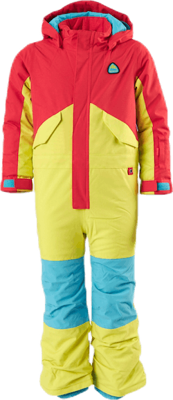 Toddler One Piece Blue/Orange/Yellow